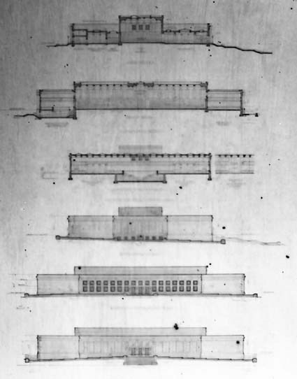 Architectural competition for the design of the proposed Australian War Memorial, entry 13