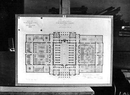 Architectural competition for the design of the proposed Australian War Memorial, entry 7
