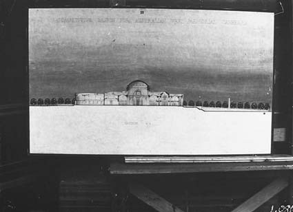 Architectural competition for the design of the proposed Australian War Memorial, entry 55