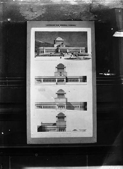 Architectural competition for the design of the proposed Australian War Memorial, entry 44