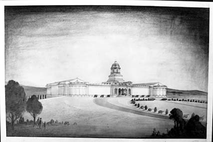 Architectural competition for the design of the proposed Australian War Memorial, entry 53
