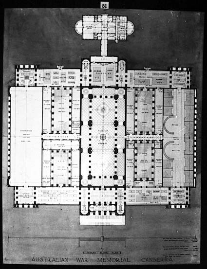 Architectural competition for the design of the proposed Australian War Memorial, entry 51