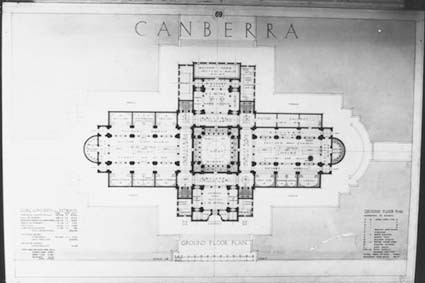 Architectural competition for the design of the proposed Australian War Memorial, entry 69