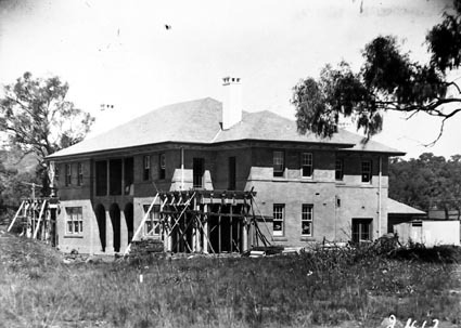 Prime Minister's Lodge Adelaide Avenue ,Deakin, from north west