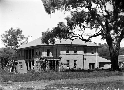 Prime Minister's Lodge , Adelaide Avenue ,Deakin, from north west