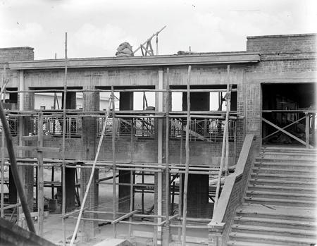 Parliament House under construction