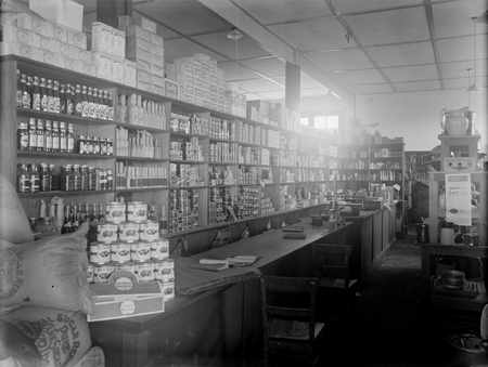Hayes and Russell grocery store.