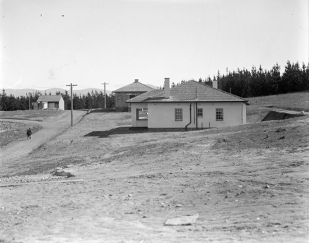 Cottages on Mount Stromlo.