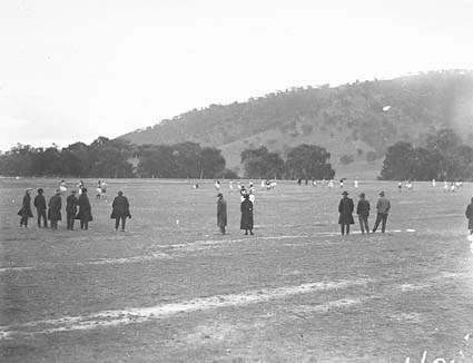 Australian Rules Football - Acton grounds