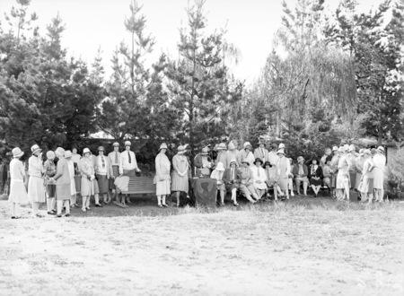 Presentation of trophies, Ladies Bogey Golf Competition.