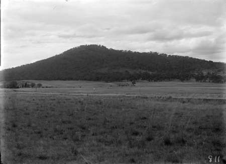 Land for sale, looking north towards Mt Ainslie.