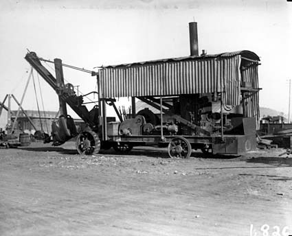 Ruston and Proctor steam excavator