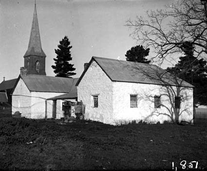 St John's Schoolhouse and St John's Church, Constitution Avenue ,Reid