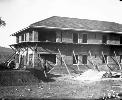 Part of Hotel Acton,  Edinburgh Avenue, Acton,  under construction