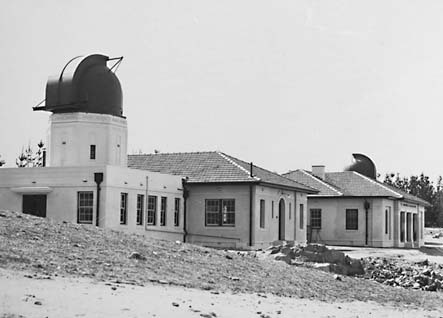 Mount Stromlo Observatory,Solar Tower,Astromers Offices,Six inch Farnham Telescope,under construction