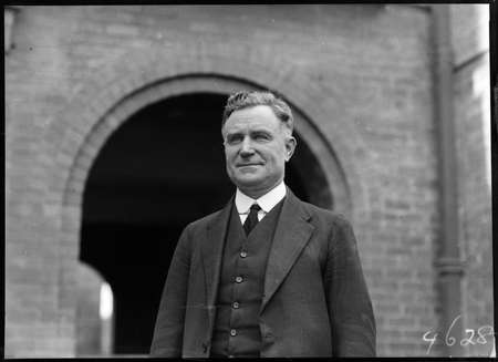Dr Earle Page MHR, Commonwealth Treasurer.