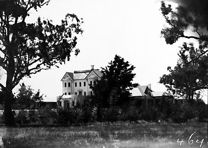 Government House, Govenor General's Residence, from the south, Yarralumla