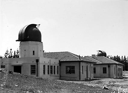 Mount Stromlo Observatory,Solar Tower,Astronomers Offices,Six inch Farnham Telescope,under construction