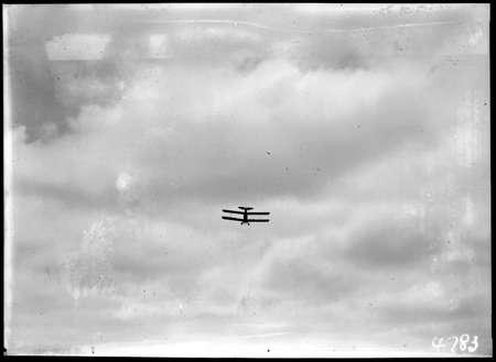 Aeroplane in flight.