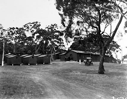 Red Hill construction camp for sewerage workers