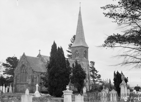 St John's Church, Constitution Avenue, Reid, from Anzac Parade.
