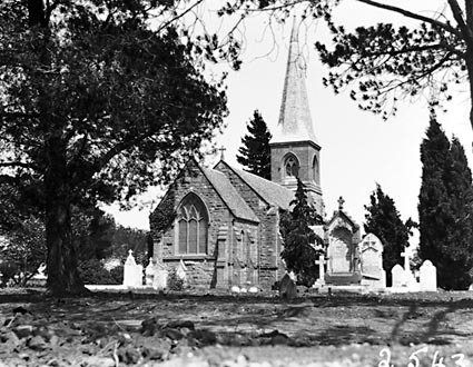 St John's Church, Constitution Avenue Reid, from Anzac Park