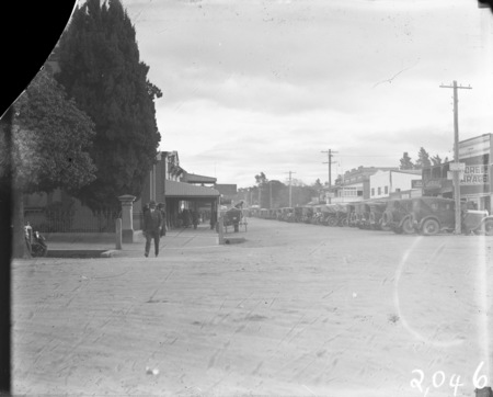 Intersection of Monaro and Crawford Streets, Queanbeyan.