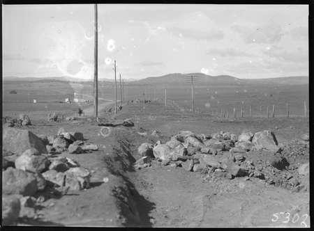 Roadworks - possibly Queanbeyan Road.