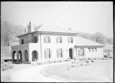 Home of Sir Robert Garran, 22 Mugga Way, Red Hill and gardens.