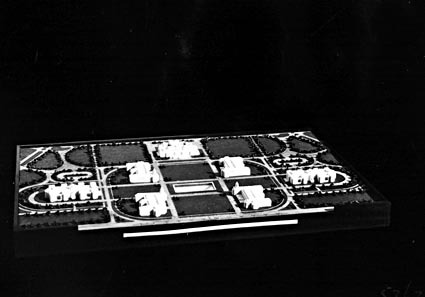 Model.- Proposed Layout-Buildings -Government Group Canberra