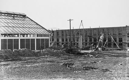 CSIR Insectarium,  Administration and Laboratory  Buildings,  Clunies Ross Street, Acton Black Mountain,  under construction