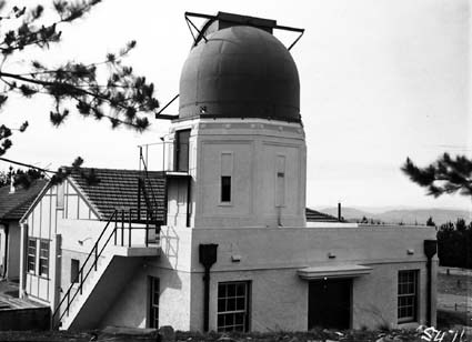 6 inch Farnham Telescope and Observatory buildings, Mount Stromlo Observatory