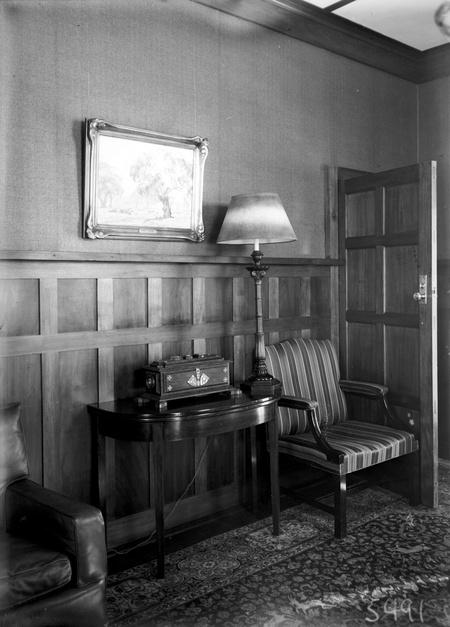 Study, Prime Minister's Lodge, Adelaide Avenue, Deakin