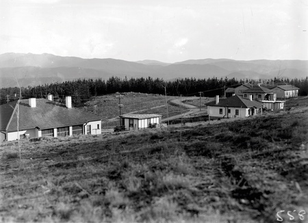 Cottages on Mount Stromlo