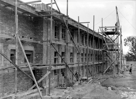CSIR Laboratory  building, Clunies Ross Street,  Black Mountain,  under construction