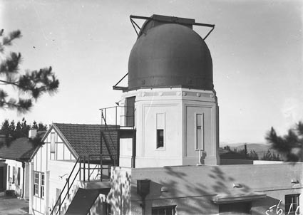 Commonwealth Solar Observatory Buildings  and six inch Farnham Telescope at Mount Stromlo Observatory