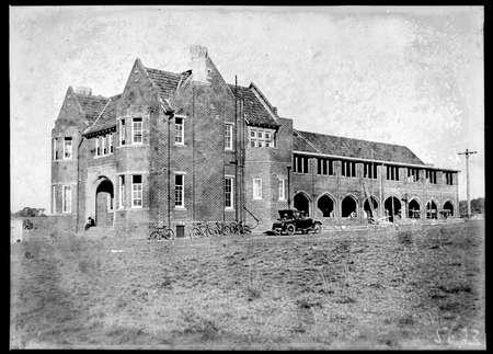 Church of England Boys Grammar School, Flinders Way, Red Hill, under construction.