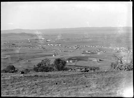 View from Red Hill towards Manuka, Kingston and Duntroon.