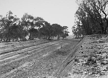 Unidentified road under construction