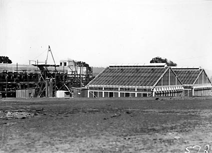 CSIR Laboratory Building, Clunies Ross Street,  Black Mountain, under construction , insectariums and laboratories