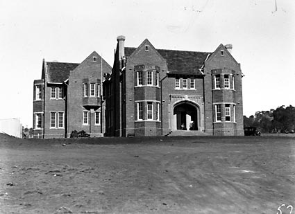 Church of England Boys Grammar School, Front Entrance. Flinders Way,  Red Hill