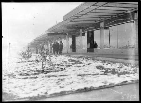 Giles St Kingston under snow.