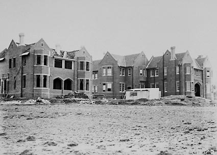 Church of England Boys Grammar School, Head Masters Residence under construction, . Flinders Way,  Red Hill