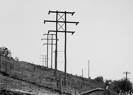 11 KV Power transmission lines