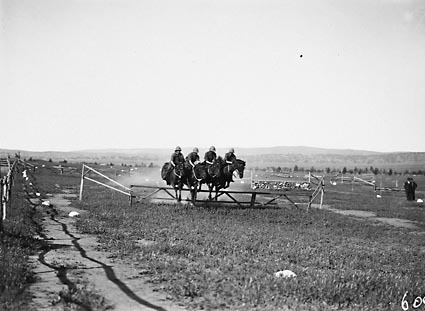 RMC [Royal Military College] Duntroon Sports Day, Formation horse jumping