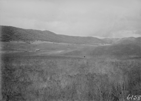 Valley of 'Environa', an uncompleted land development between Queanbeyan and present day Hume.