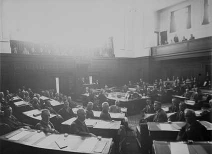 The House of Representatives in session for the 12th Parliament