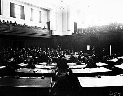 The House of Representatives in session for the opening of the 12th Parliament