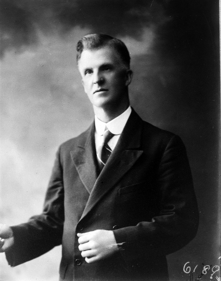 Portrait of Prime Minister James Henry Scullin PC.