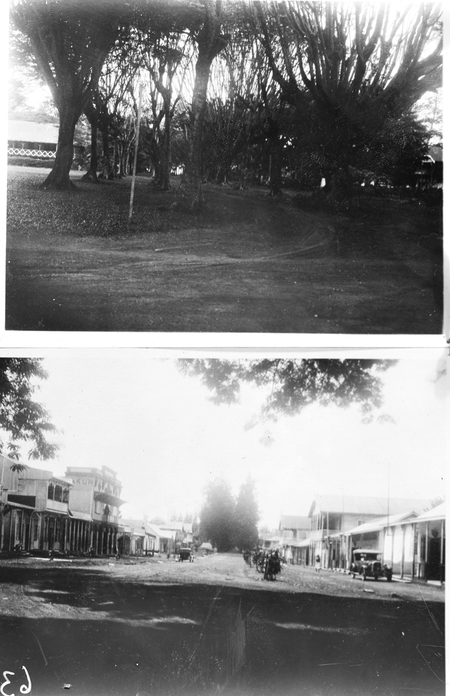 Copy of photographs of pictures taken in Rabaul TNG [Territory of New Guinea]